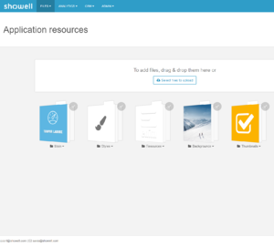 App resources folders (2)